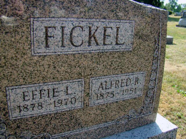 Effie Lola <i>Bonnett</i> Fickel