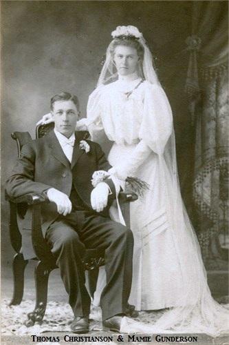 Mamie Marie <i>Gunderson</i> Christianson