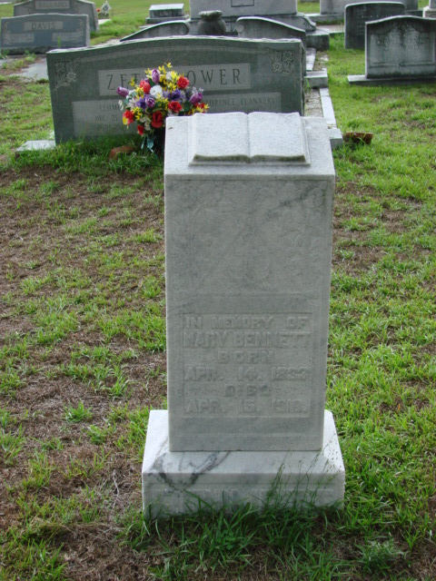 Mary Frances <i>Strickland</i> Bennett