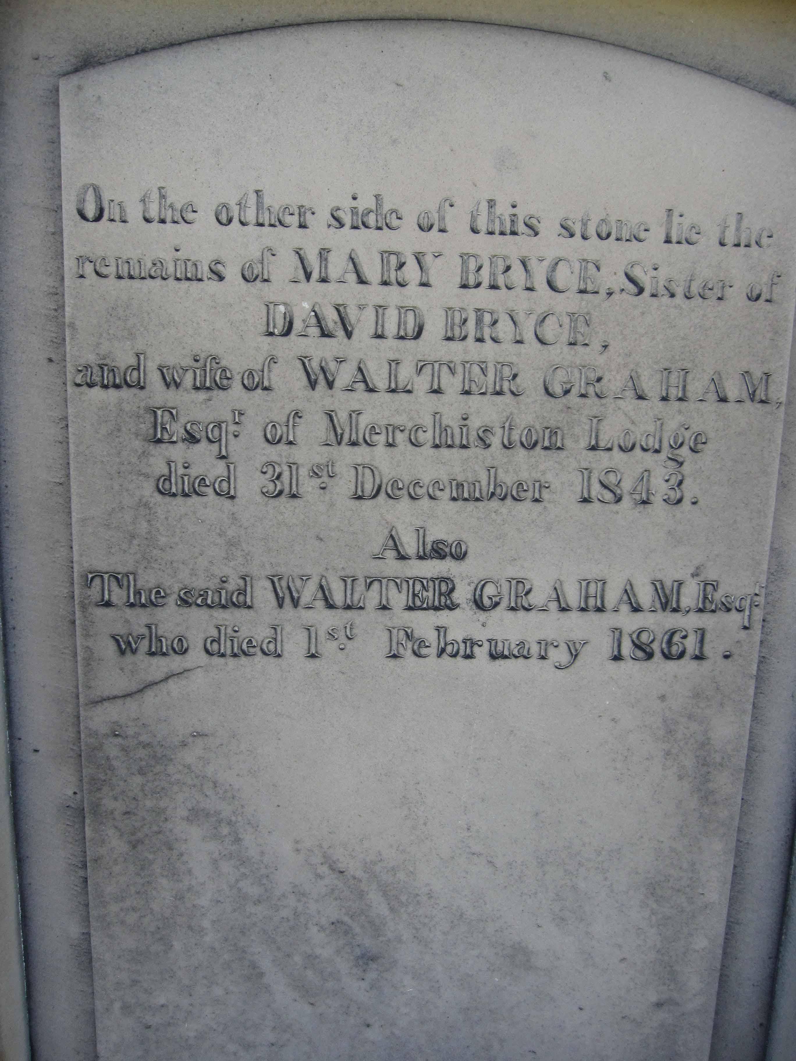Mary <i>Bryce</i> Graham
