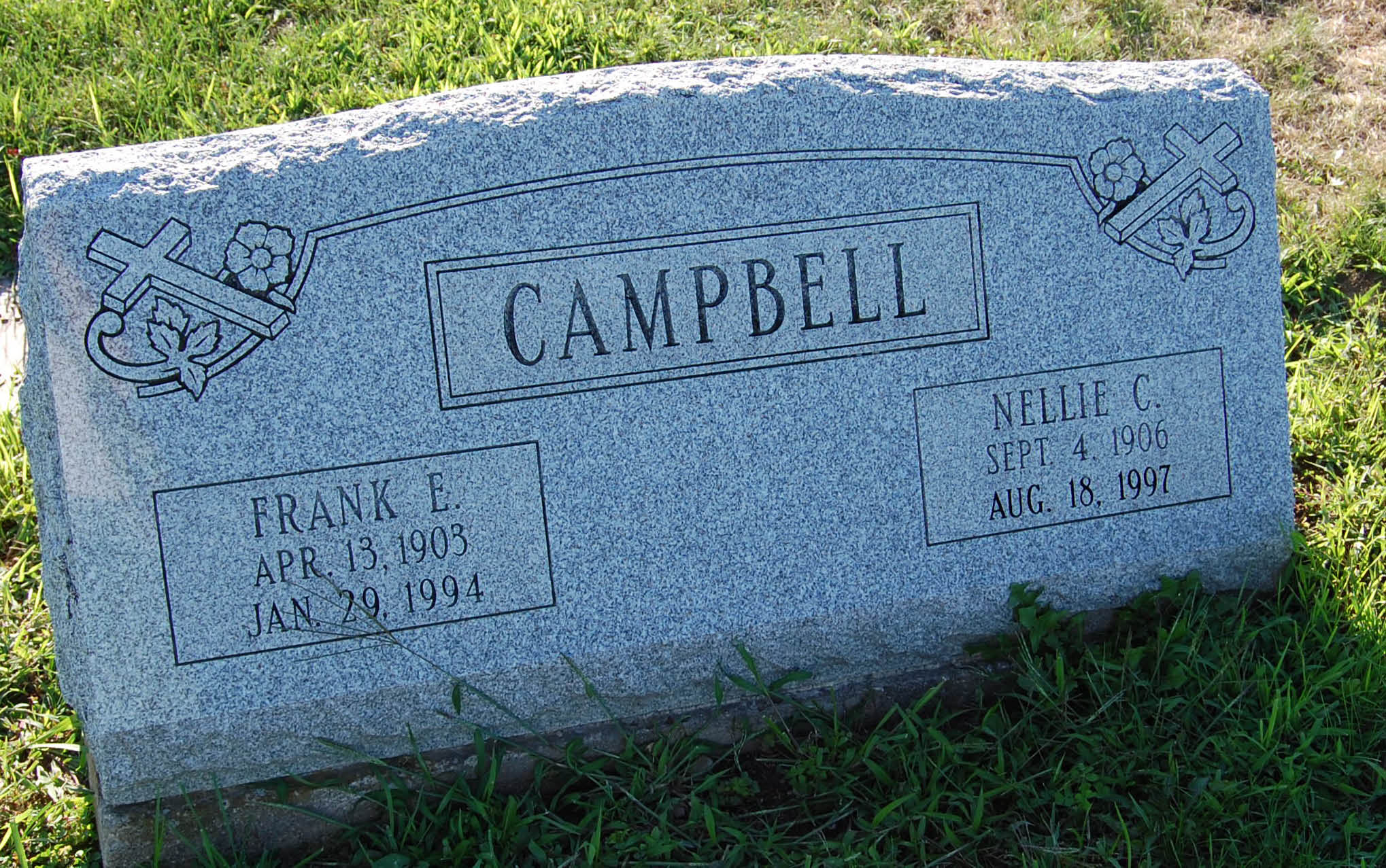 Nellie C <i>McCollough</i> Campbell