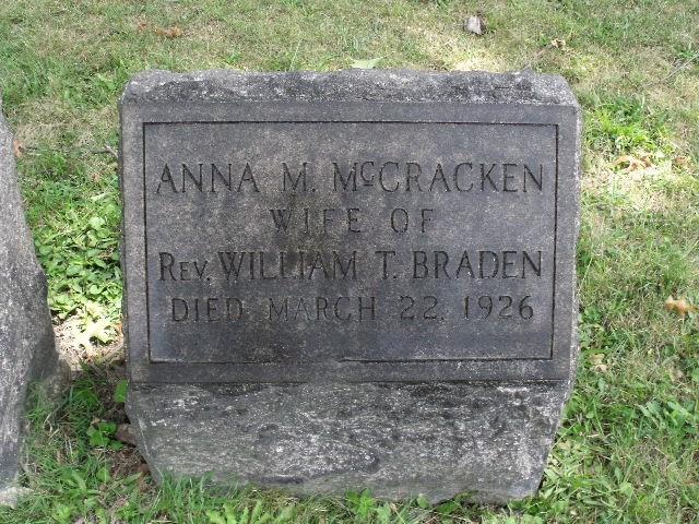 Anna Margaret <i>McCracken</i> Braden