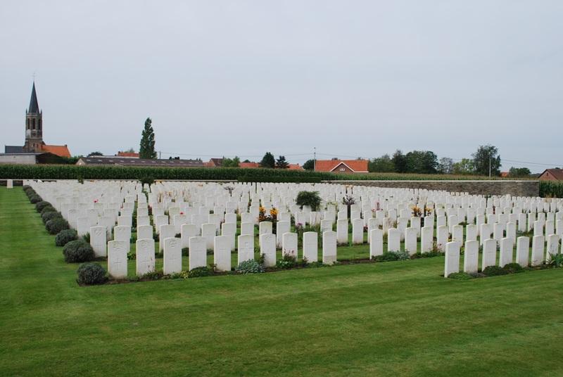 Zantvoorde British Cemetery