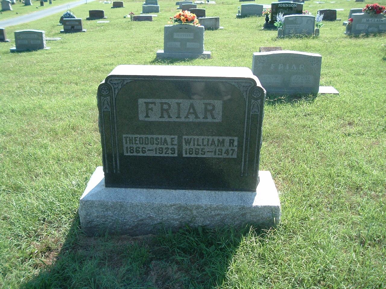 Theodosia Earnest <i>Ruark</i> Friar