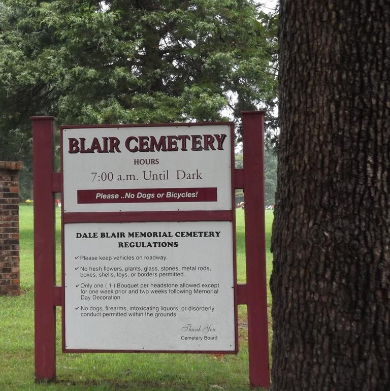 Dale Blair Memorial Cemetery