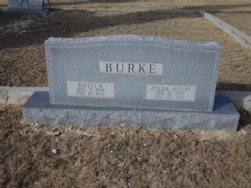 Jessie <i>Busby</i> Burke