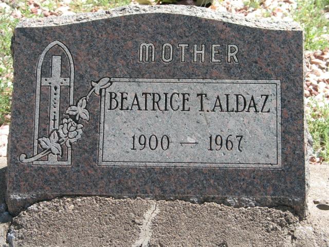 Maria Beatriz Beatrice <i>Trujillo</i> Aldaz