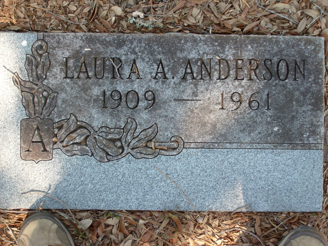 Laura Annie <i>Kreger</i> Anderson