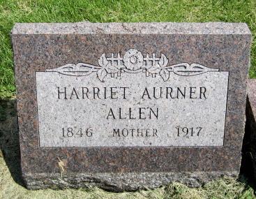 Harriet <i>Aurner</i> Allen