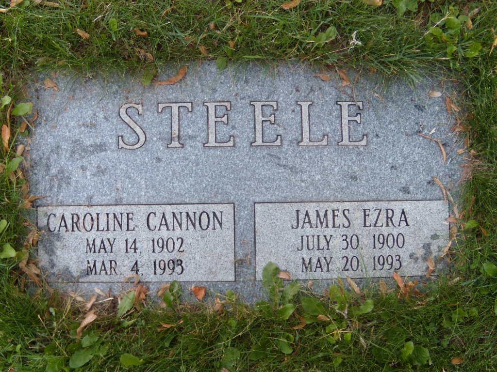 Caroline <i>Cannon</i> Steele