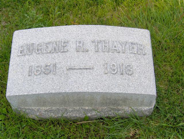 Eugene Richards Thayer