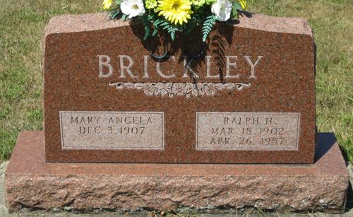 Mary Angela <i>Freel</i> Brickley