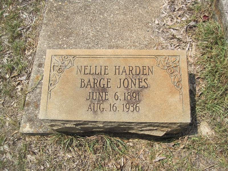 Nellie Harden <i>Barge</i> Jones