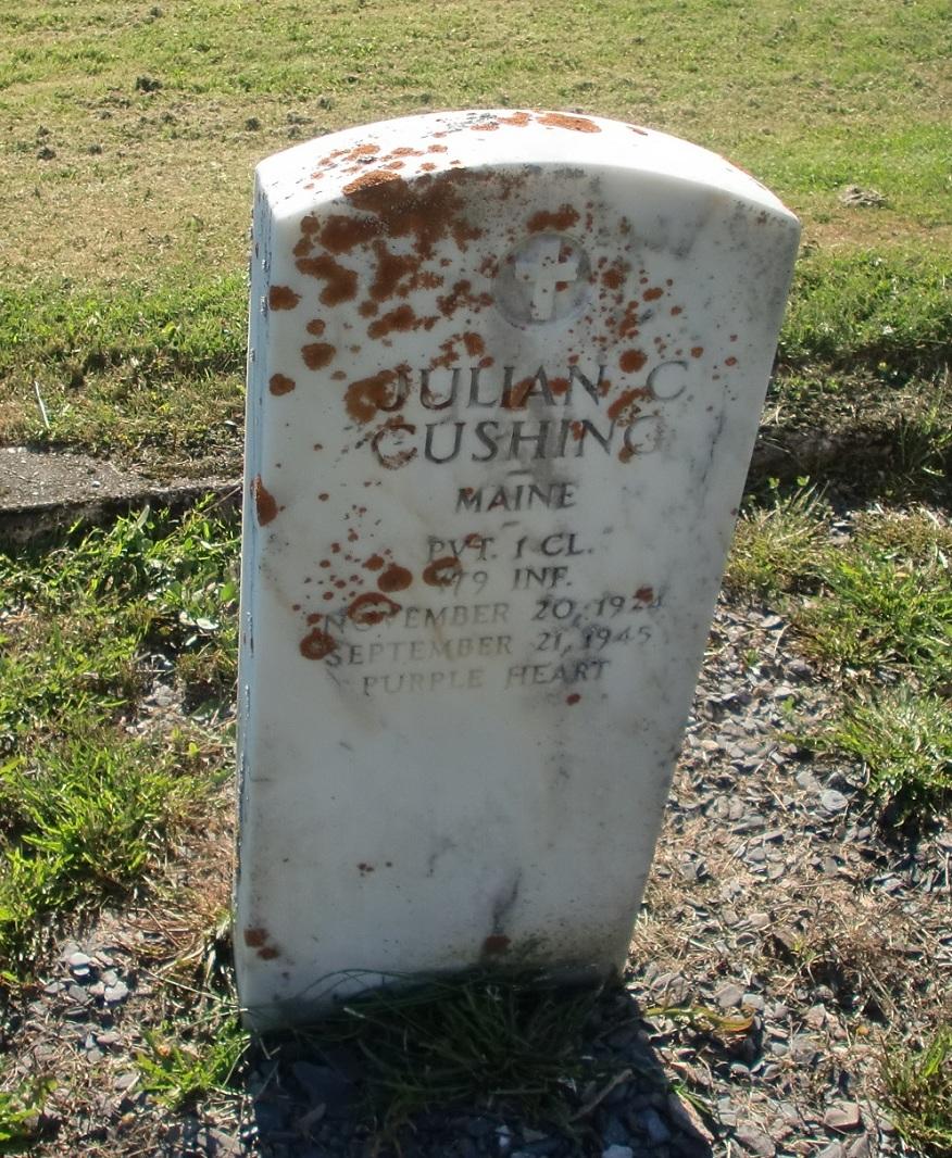 PFC Julian C Cushing