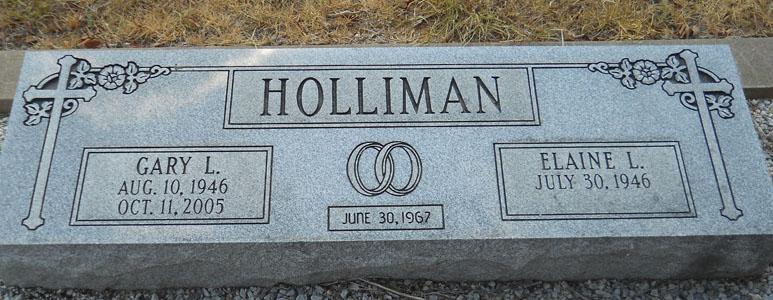 Gary Leslie Holliman