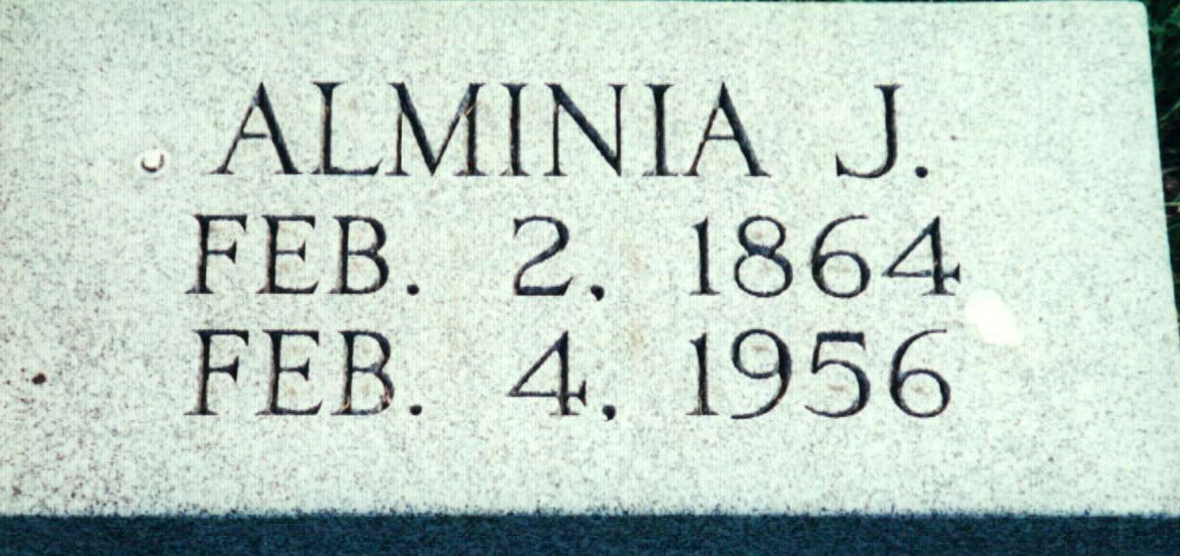 Alminia Jane <i>Defenbaugh</i> Armstrong