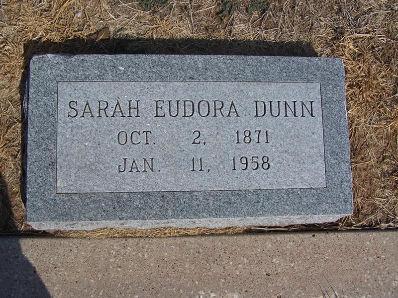 Sarah Eudora Dora <i>Ziglar</i> Dunn