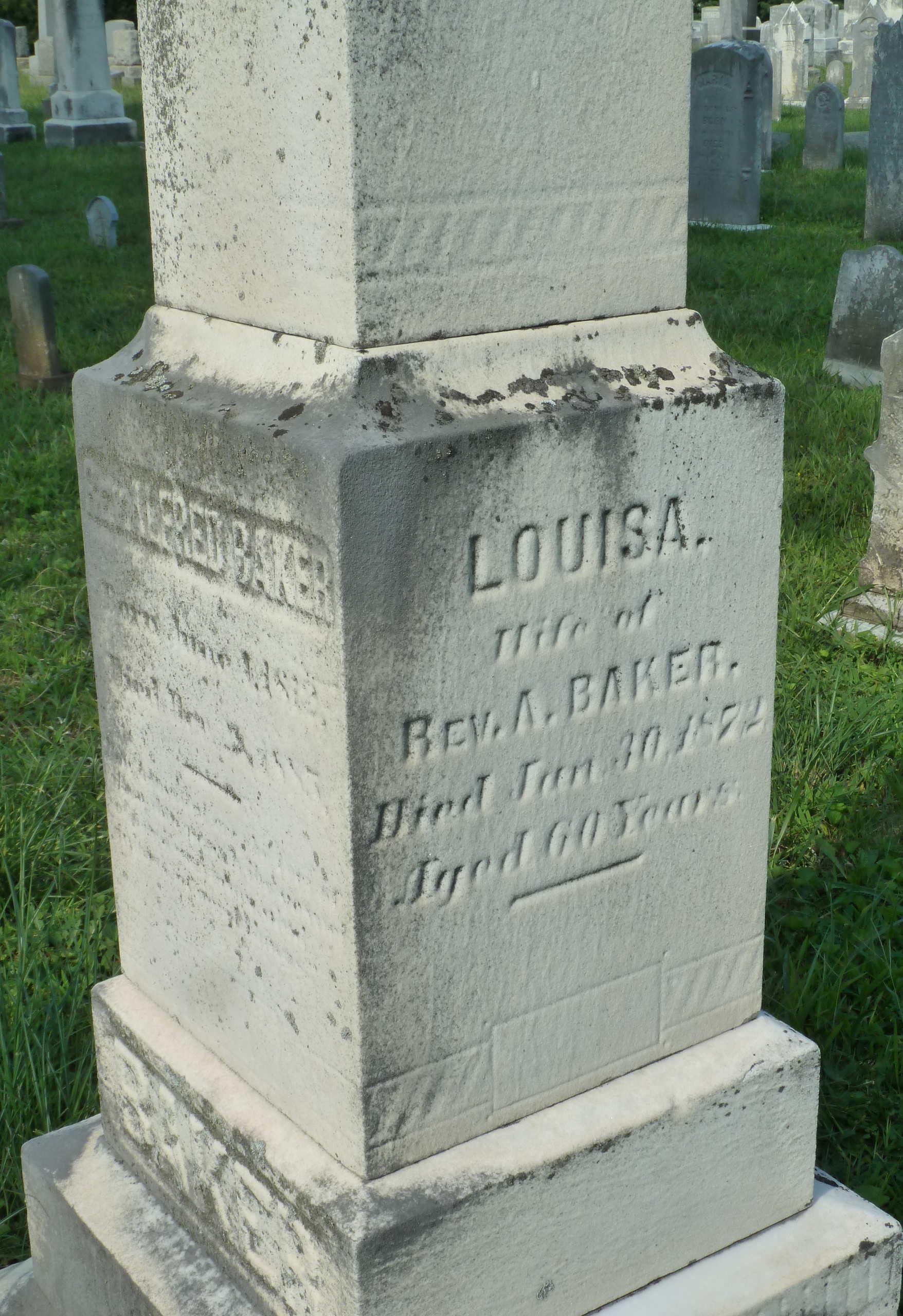 Louisa <i>Moxley</i> Baker
