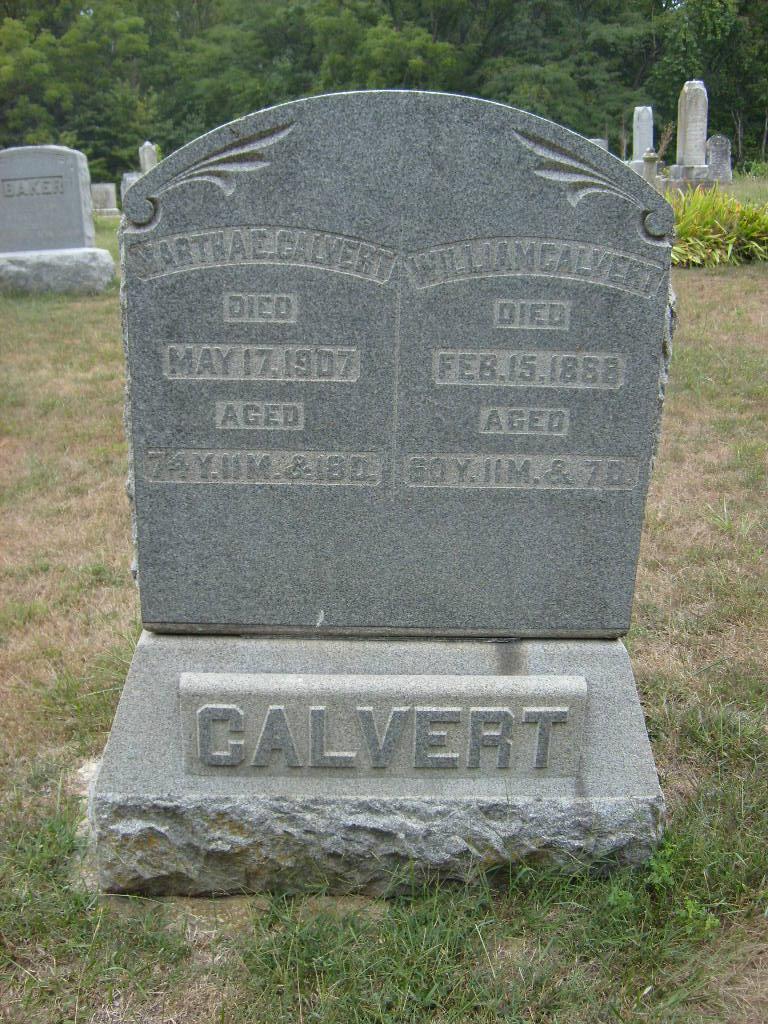 Martha Elizabeth <i>Marts</i> Calvert
