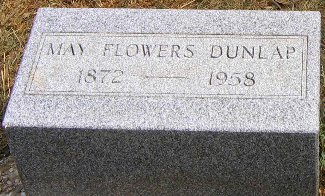 May Flowers <i>Flowers</i> Dunlap