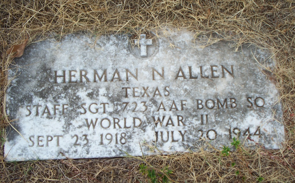 Sgt Herman Neil Allen