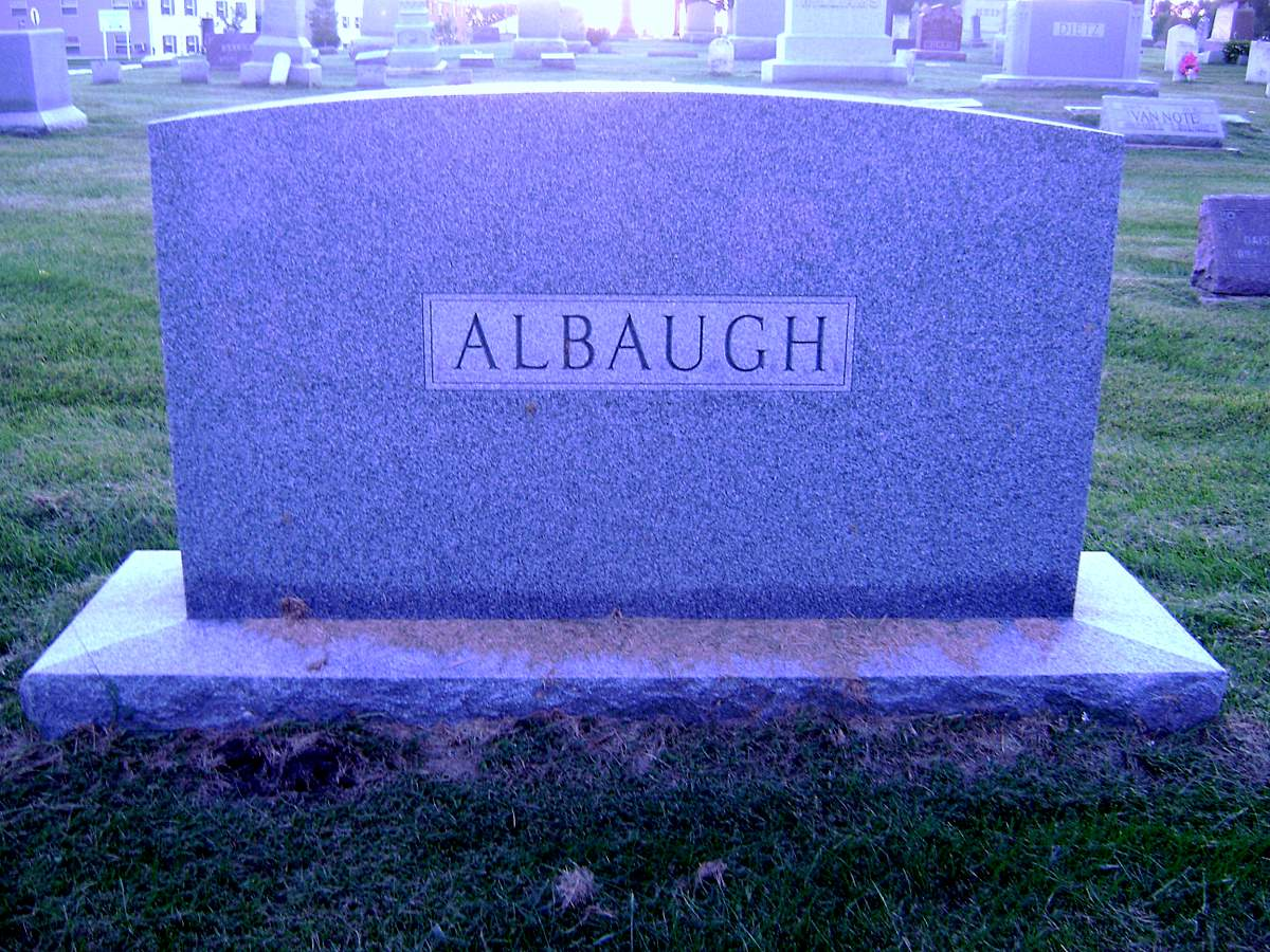 Mary Elizabeth Elizabeth <i>Reed</i> Albaugh