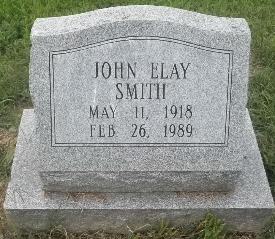 John Elay Smith (1918 - 1989) - Find A Grave Photos