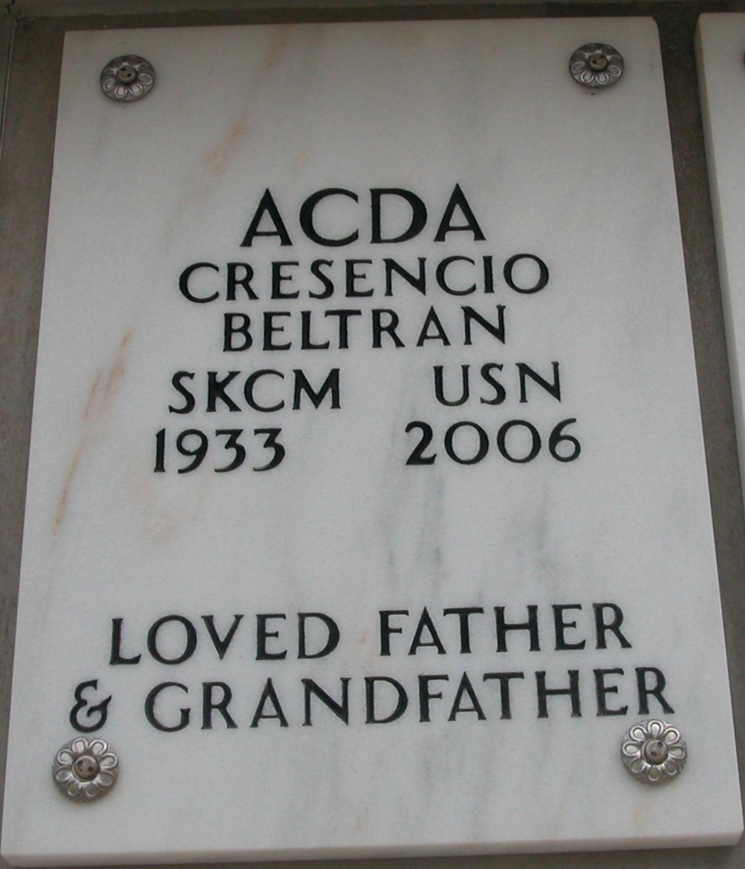 Cresencio Beltran Acda