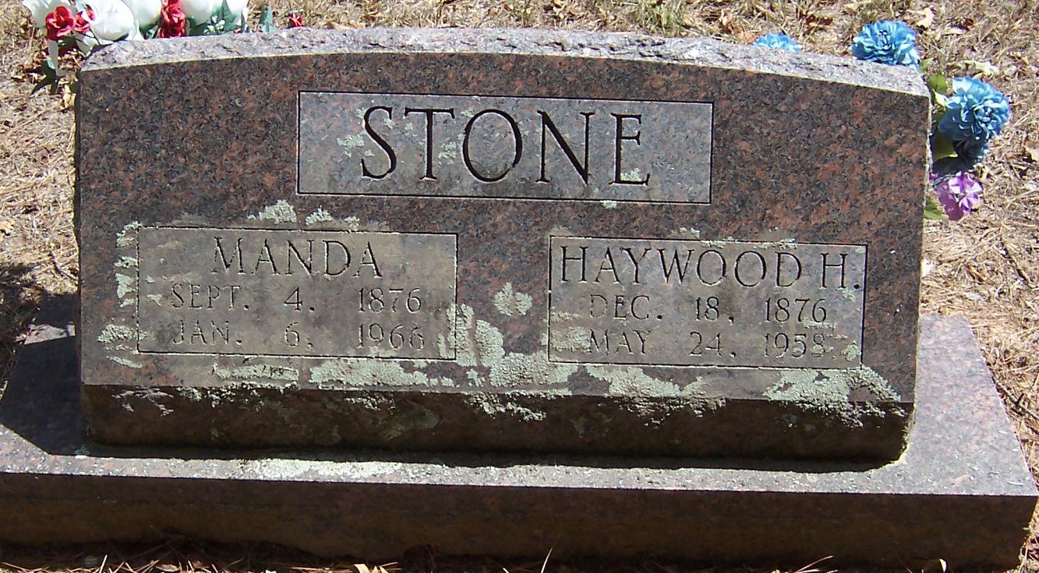 Amanda Manda <i>McRoy</i> Stone