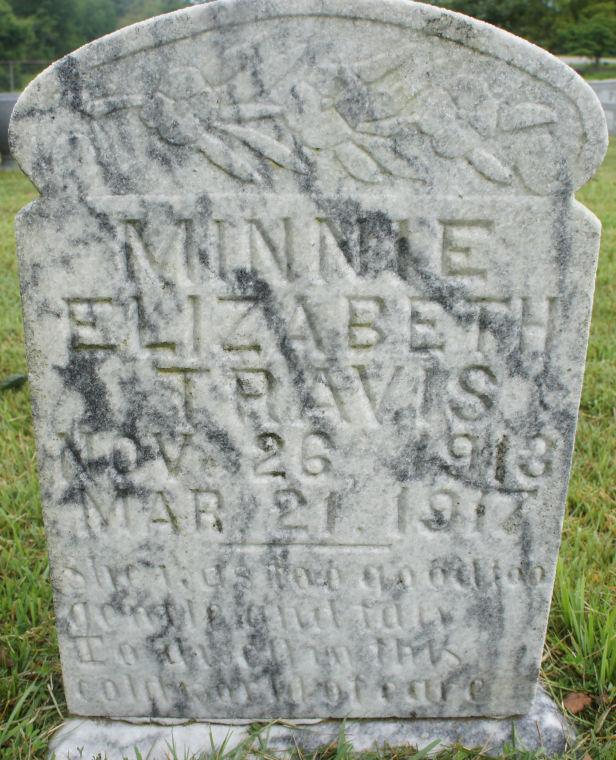 Minnie Elizabeth Travis