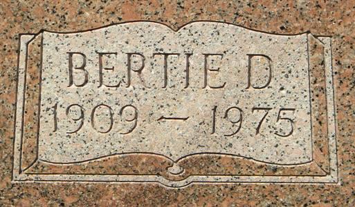 Bertie Donna <i>Barrow</i> Bankston