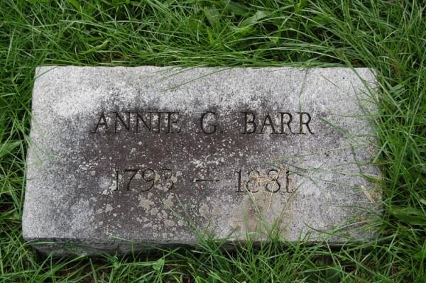 Annie G Barr