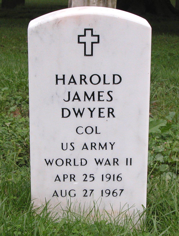 COL Harold James Dwyer