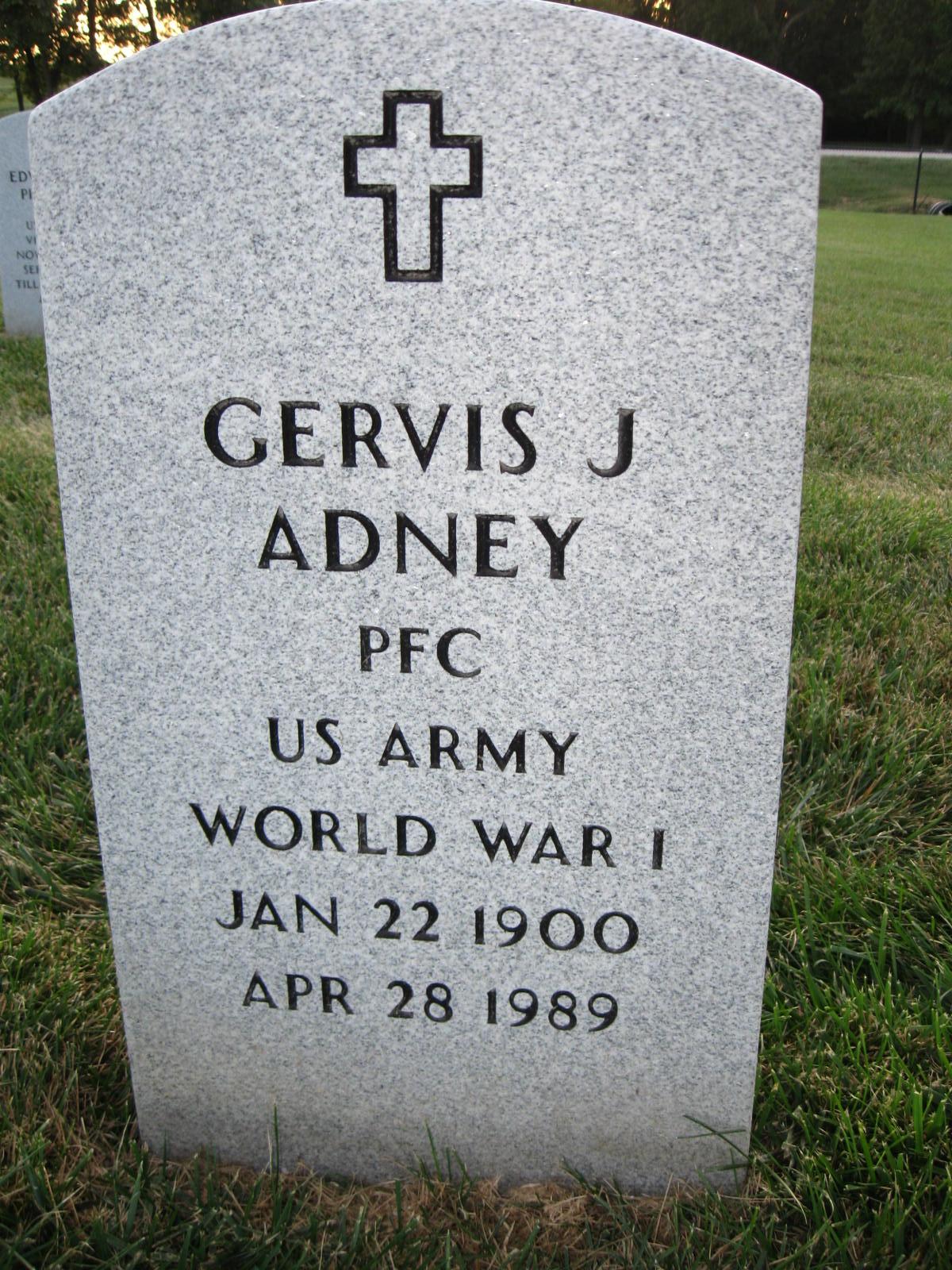 Gervis Jefferson Adney