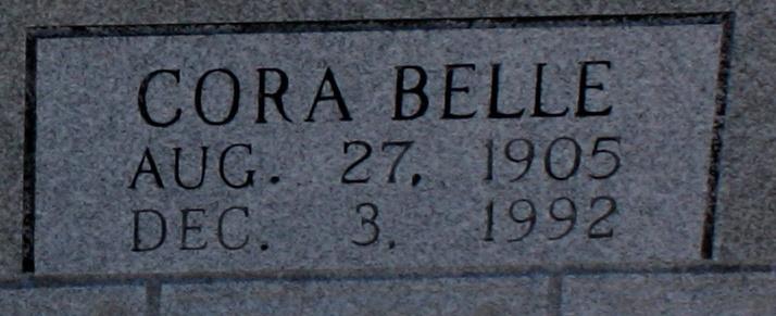 Cora Belle <i>Corn</i> Boothe
