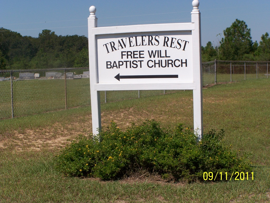 Travelers Rest Freewill Baptist Church Cemetery