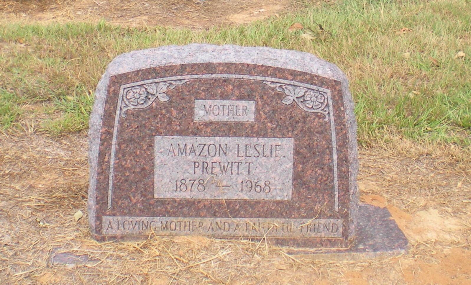 Amazon Leslie Prewitt