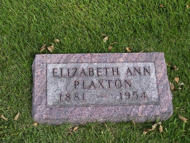 Elizabeth Ann Plaxton