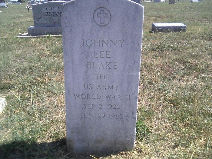 Johnny Lee Blake