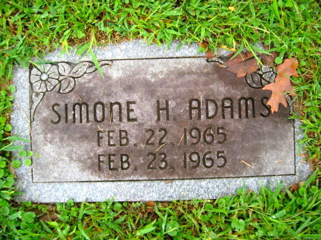 Simone Helen Adams
