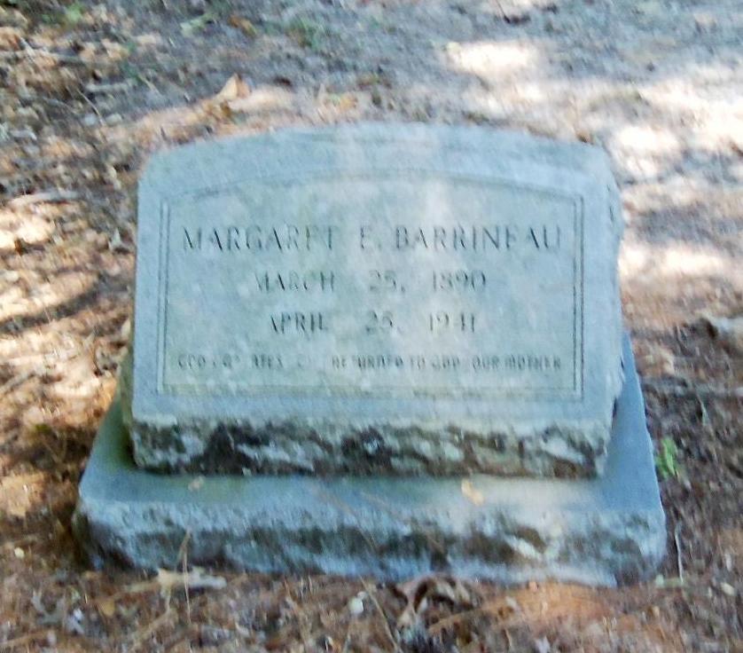 Margaret Elizabeth <i>Burrows</i> Barrineau