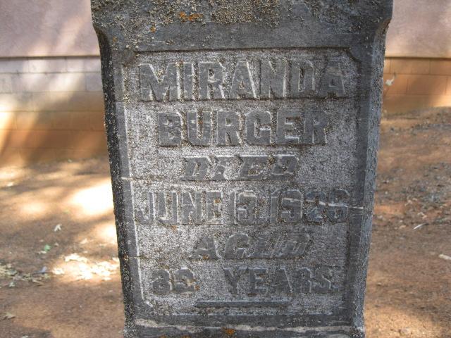 Miranda <i>Kouns</i> Burger