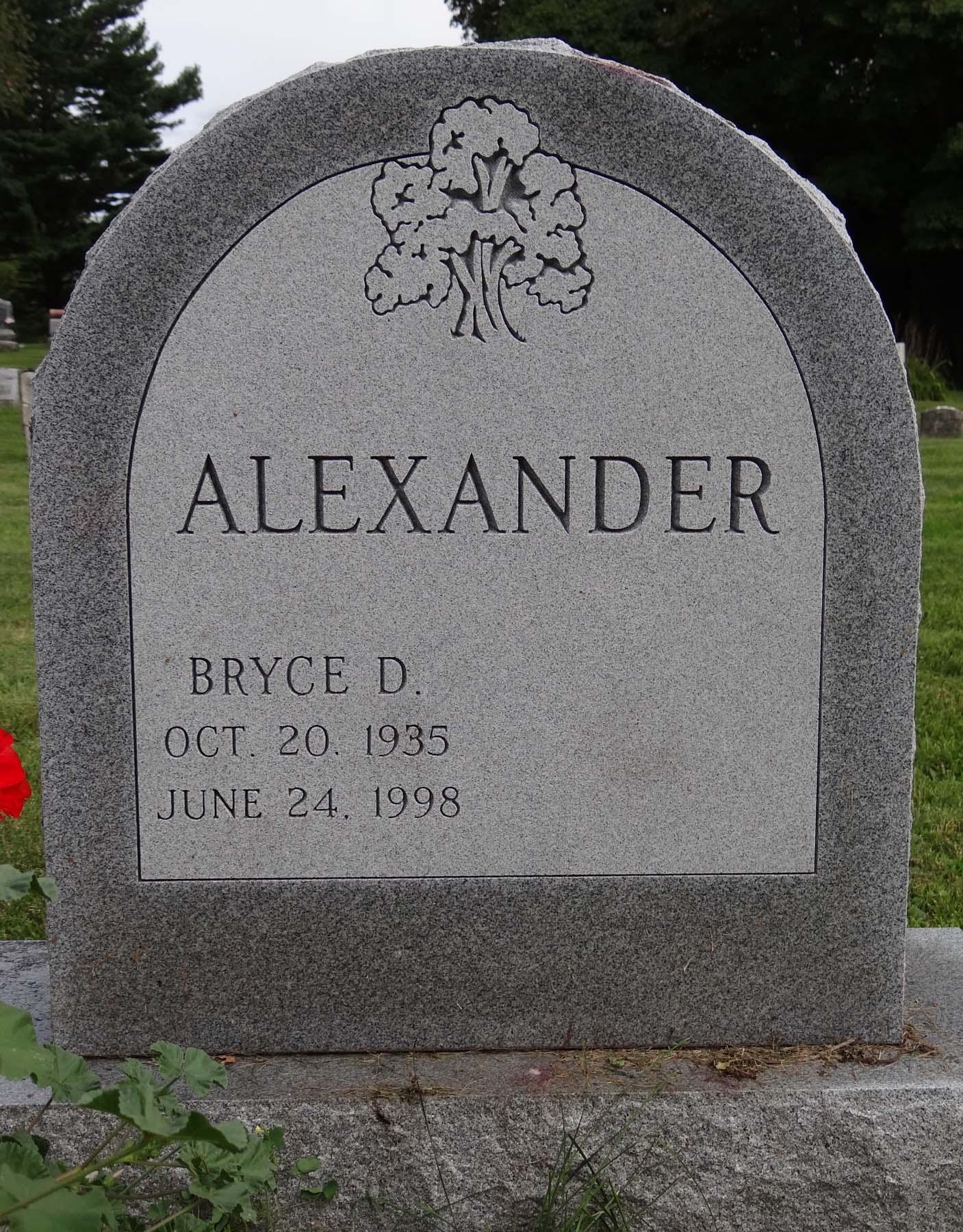 Bryce D. Alexander