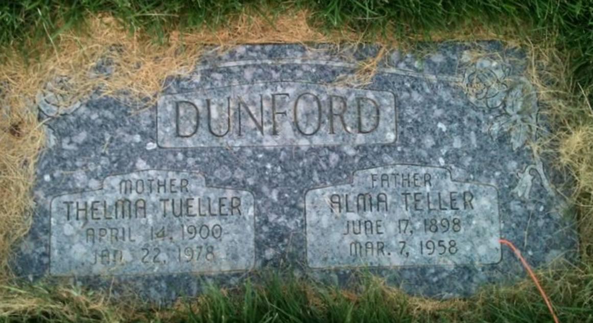 Alma Teller Dunford