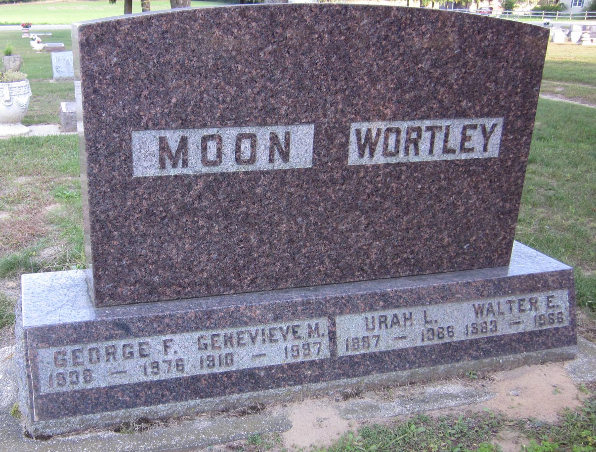 Genevieve M. <i>Wortley</i> Moon