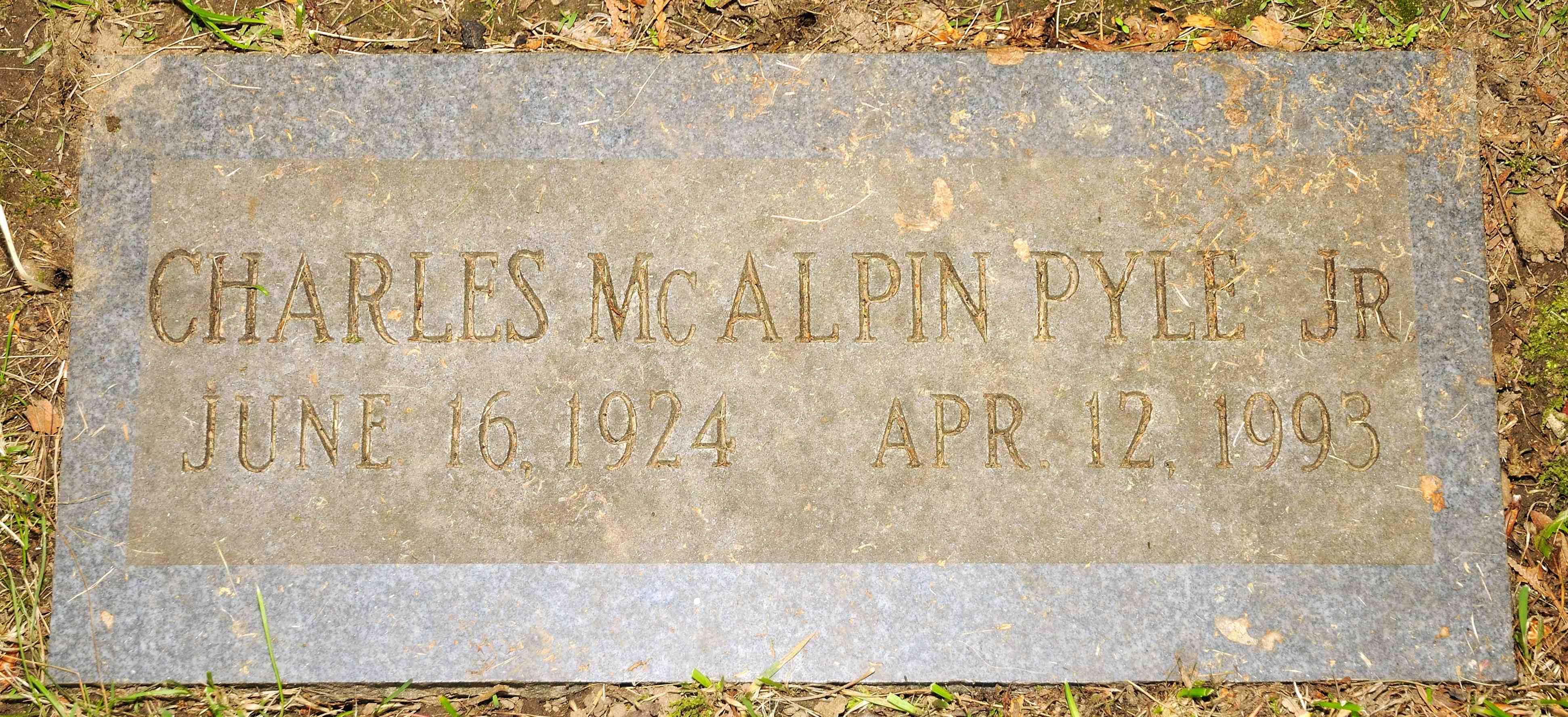 Charles McAlpin Pyle, Jr