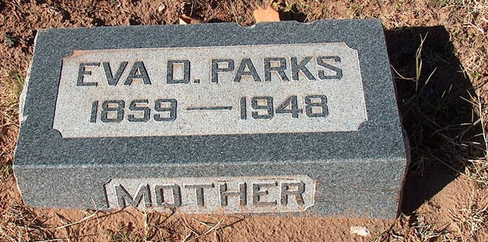Eva Della <i>Clark</i> Parks