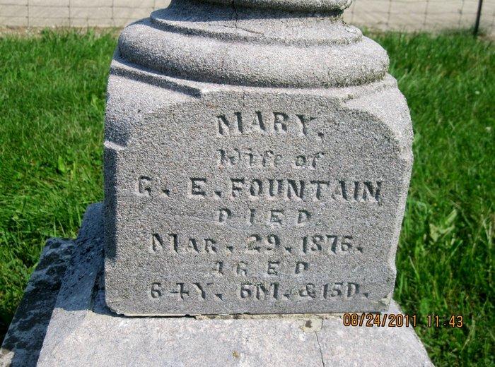 Mary <i>Dodd</i> Fountain