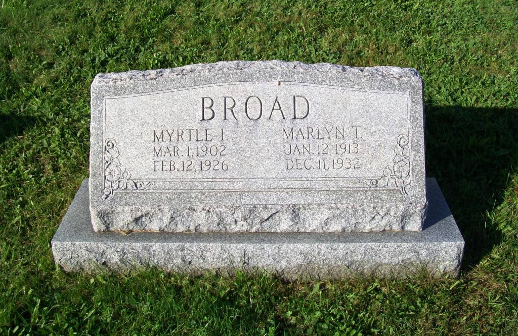 Myrtle Irene Broad