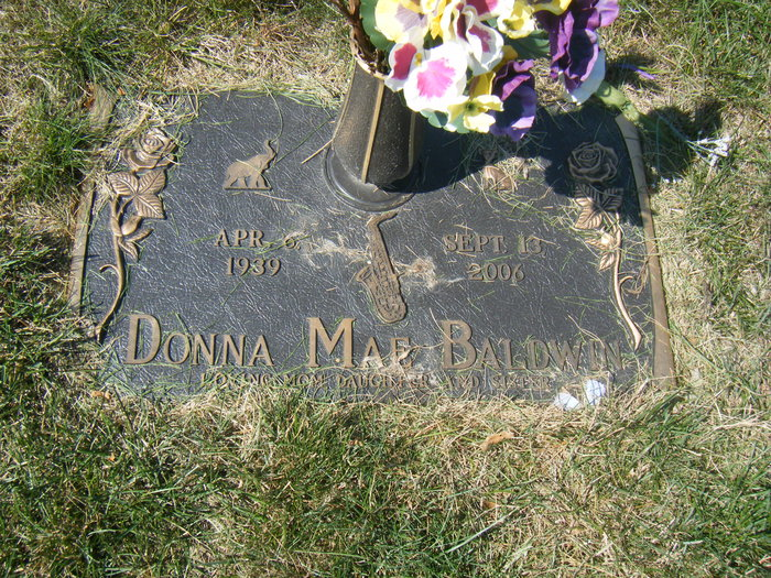 Donna Mae <i>Viers</i> Baldwin